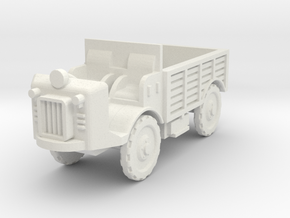 Autocarretta 35 desert 1:72 in White Natural Versatile Plastic