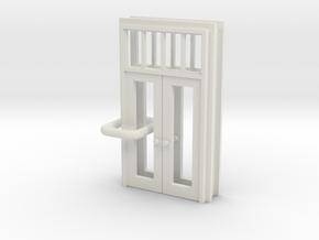SP Door Type 1 x 2 scaled in White Natural Versatile Plastic