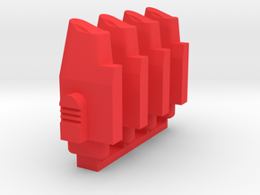WE Tech G17  GBB Part G64 - Magazin Follower 4x in Red Processed Versatile Plastic