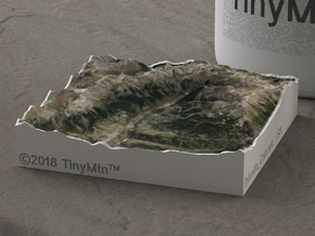 Telluride, Colorado, USA, 1:250000 Explorer in Full Color Sandstone