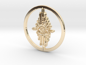 Blood Rapture in 14k Gold Plated Brass