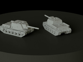SU-152 scale: 1:160 in Smooth Fine Detail Plastic