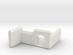 HOF082 - Barbican for the castle. in White Natural Versatile Plastic