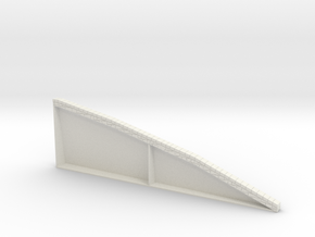 HOF080 - Lower counterscarp wall in White Natural Versatile Plastic