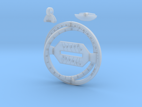 Universal Ring Dial in Smooth Fine Detail Plastic