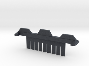 9 Tooth Electrophoresis Comb in Black Professional Plastic