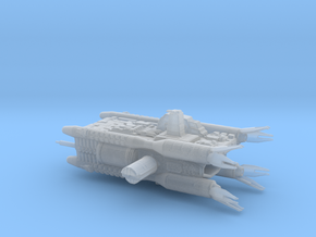 Earth Alliance Olympus Corvette Armada Scale in Smooth Fine Detail Plastic