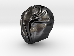 """Help Me!"" Carving Scuplture (Dark Souls) in Polished and Bronzed Black Steel: Small"