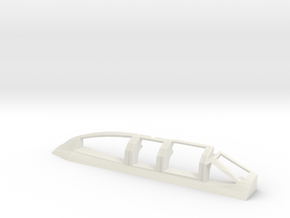 AD5-144scale-inflight-2-canopy-right in White Natural Versatile Plastic