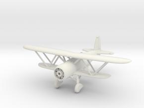 Fiat CR.42  1/144 & 1/100 in White Natural Versatile Plastic: 1:144