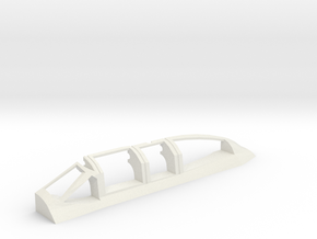 AD5-144scale-inflight-3-canopy-left in White Natural Versatile Plastic