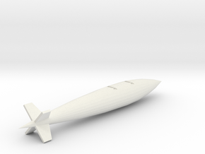 AD5-144scale-inflight-5-torpedo-lt in White Natural Versatile Plastic