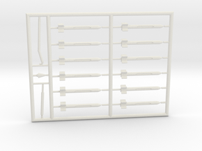 AD5-144scale-inflight-7-whiteparts in White Natural Versatile Plastic