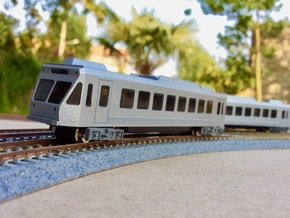 #160-4130 Septa N5 ABB car in Smoothest Fine Detail Plastic