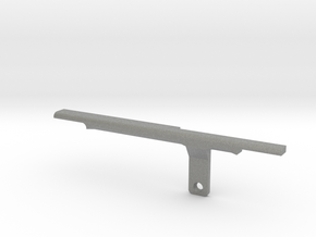ThumbRail (Bridge)-fits Fender Amer Dlx Jazz 5 in Gray Professional Plastic