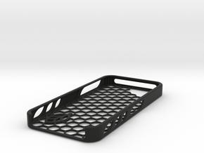 Hexagon Case in Black Premium Versatile Plastic