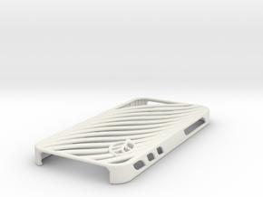 wavy case in White Premium Versatile Plastic