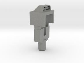 Handle and Filler for TR Triggerhappy in Gray Professional Plastic