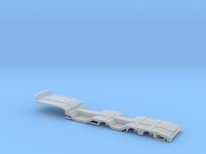 1/87 3 achs OSDS Trailer mit Radmulden  Ver.1 in Smooth Fine Detail Plastic: 1:87 - HO