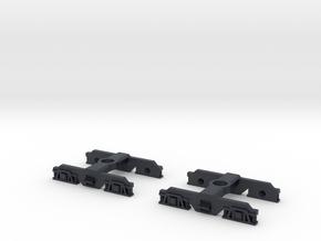 SAR Redhen 860 Bogie in Black Professional Plastic