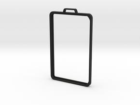 SimpleBadge in Black Premium Versatile Plastic