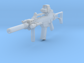 1/10th 36Cgun Tactical 1 in Smooth Fine Detail Plastic