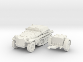 sdkfz 252 scale 1/100 in White Natural Versatile Plastic