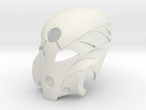 Kanohi Mask of Healing in White Premium Versatile Plastic