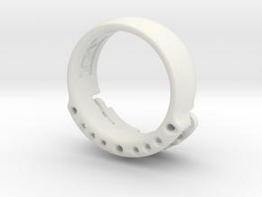US14 Ring VI: Tritium in White Premium Versatile Plastic