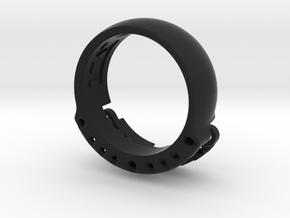 US14 Ring VI: Tritium in Black Premium Versatile Plastic