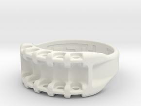 US11.5 Ring IX: Tritium in White Premium Versatile Plastic