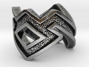 Owl-Ring in Antique Silver: 8 / 56.75