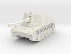 marder II sdkfz 131 scale 1/100 in White Natural Versatile Plastic