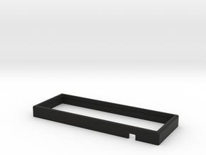 Planck HiPro Bumper Case in Black Natural Versatile Plastic