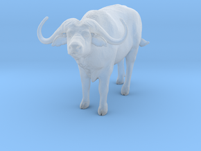 Cape Buffalo 1:48 Standing Male 2 in Smooth Fine Detail Plastic
