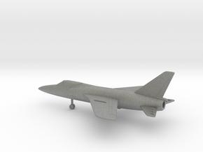 Grumman F-11F-1 Tiger in Gray PA12: 6mm