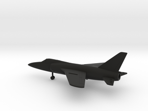 Grumman F-11F-1 Tiger in Black Natural Versatile Plastic: 1:200