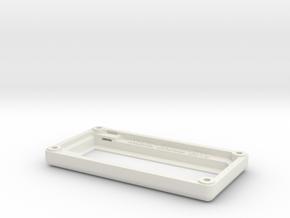"Matrix Orbital 3.8"" Smooth Bezel Mount (Rev1.0) in White Natural Versatile Plastic"
