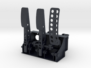 Racing Pedal Box - Type 7 - 1/8 in Black Professional Plastic