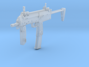 1/10th MP7 in Smooth Fine Detail Plastic