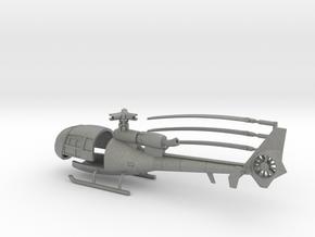 035A SA-341 Gazelle 1/144 in Gray Professional Plastic