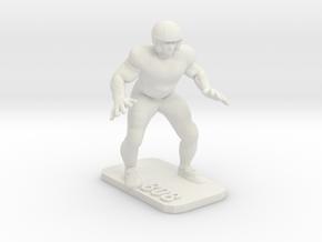 Guard 2 in White Natural Versatile Plastic