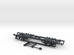 POHEV CMg 1610 / C 1534 Wheelbase 1:87 in Black Professional Plastic