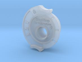 HopChop Mk4 Guide - R-Hop Cutting Jig in Smooth Fine Detail Plastic: Medium