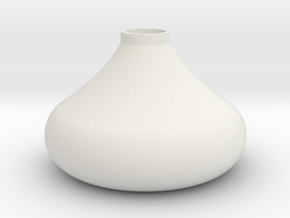 Persian Candle Holder in White Natural Versatile Plastic