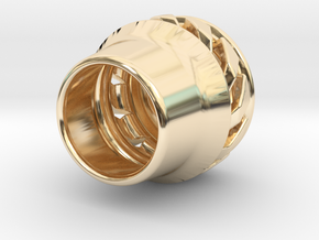 tzb graviton in 14k Gold Plated Brass