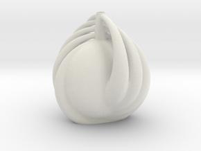 Vase 1109redux in Matte Full Color Sandstone