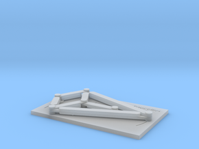 Linear Motion Mechanism of Paucellier in Smooth Fine Detail Plastic
