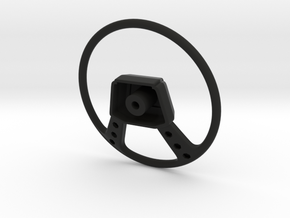 RCN010 steering wheel for Pro-Line Toyota SR5  in Black Natural Versatile Plastic