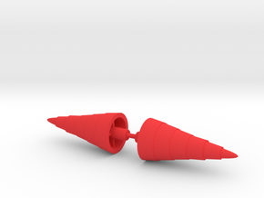 Steel Jeeg Shoulder Drills in Red Processed Versatile Plastic